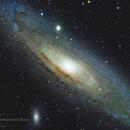 M31 Andromeda Galaxy,                                Graem Lourens