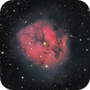 IC5146, a LHaRGB image, taken from CPH, Denmark during hot summer nights :-),                                Niels V. Christensen