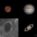 Solar System Collage 2020,                                Gabriel Cardona