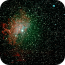 Flaming Star Nebula,                                Robin Clark - EAA...