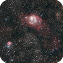 M20 and M8 Wide field,                                CarlosSagan