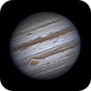 Jupiter w/GRS March 2015,                                Steve