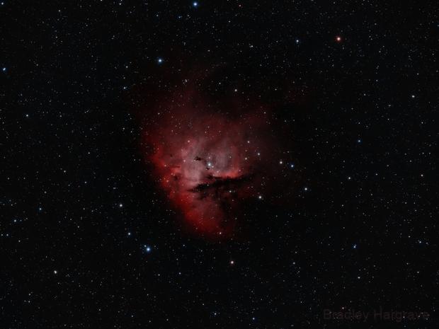 Pacman Nebula HOO,                                Bradley Hargrave