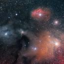 The Rho Ophiuchi nebula,                                Kevin Parker