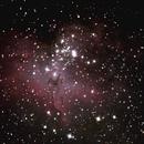 M16 The Eagle Nebula,                                RonAdams