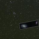 M81 & M82 mosaic scale,                                njherr