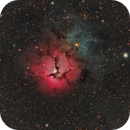 M20 Trifid Nebula,                                Stan Smith