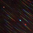 M57 slitless spectrum,                                Michael Deyerler