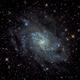Triangulum M33 (first ever StarTools processing),                                otoskope