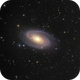 Halpha enhanced  - Bode 's Galaxy - M81 in LHaRGB,                                Arnaud Peel