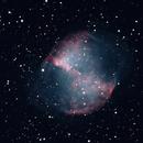 M27 Final - Dumbell Nebula,                                Burk Young
