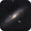 SV70T second light - more appropriate target (M31),                                bobzeq25