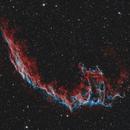The Eastern Veil Nebula (HOO),                                Andrei