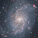 M33 - central region,                                keving