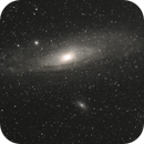 15 minutes with M31,                                Ian Dixon