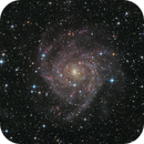 The Hidden Galaxy - IC342 - LRGB,                                Thomas Richter