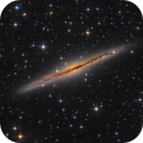 Outer limits Galaxy - NGC891 - new version for close-up,                                Arnaud Peel