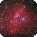 NGC 7635, Bubble Nebula, boosted with Ha,                                Markus Blauensteiner