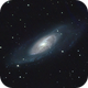 M106: Flying Saucer Galaxy,                                orangemaze
