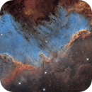 NGC 7000 Cygnus Wall - Making the invisible visible...,                                Andre van der Hoeven