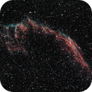 NGC 6992 The Eastern Veil nebula in Cygnus,                                Harri Heikkinen