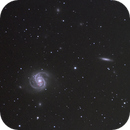 Galaxy M100 with supernova SN 2019ehk,                                seconds_in_eternity