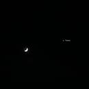 Crescent Moon + Venus - 28-01-2020,                                AC1000