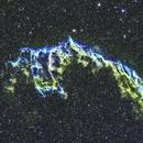 NGC6995 Veil Nebula in SHO,                                Greg Z
