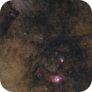 Sagittarius Widefield: M8, M20 and IC 1284,                                Gabriel Siegl