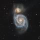 The Whirlpool Galaxy,                                Gabe Shaughnessy