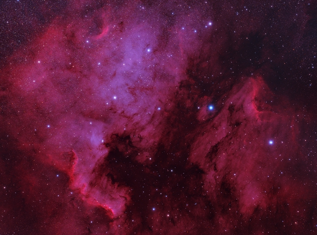 North America Nebula & Pelican Nebula (Ha),                                Alessio Beltrame