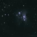 Running Man Nebula,                                Christian Serrano