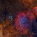 M6 / NGC6374 / NGC6425 in HOORGB,                                Philippe BERNHARD
