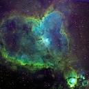 Heart Nebula (IC 1805),                                njherr