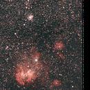 Running Chicken Nebula (IC 2944),                                Dcpd