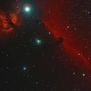 17&18-01-10  horsehead & Flame nebula,                                Bob Scott