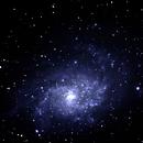 M33 Traingulum Galaxy 10/13/17,                                Brad Carlson