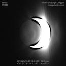 Venus night-side on May 18, 2020,                                Chappel Astro