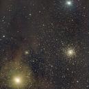 M4 et Antares,                                Daniel Fournier