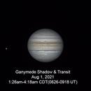 Ganymede Shadow Transit August 1, 2021,                                walkman
