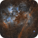 Emission Nebula Sh2-115 and Planetary Nebula Abell 71,                                Phil Brewer