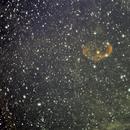 NGC 6888 Crescent Nebula (preliminary bi-color),                                Nikola Nikolov