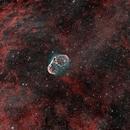 NGC 6888 Crescent Nebula with Soap Bubble Nebula,                                Christoph Nieswand