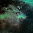 NGC 5070 Pelican Nebula SHO,                                Bock Chuang Yee