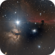 Horsehead and Flame Nebula,                                Pierre_Lapouge