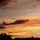 Sunset at the baseball game,                                Van H. McComas