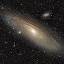 M31 Andromeda kurz belichtet,                                Christian Höferlin