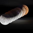 """Apollo 11 anniversary"" 's Lunar Eclipse,                                OlympusMons-UMONS"