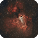 The Omega Nebula, M17,                                Bret Waddington