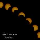 Partial solar eclipse - 2016,                                Samuel Müller
